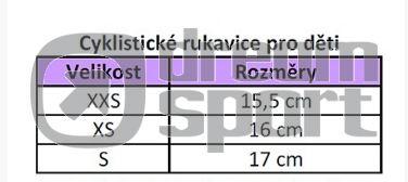 ef419fca518 Dětské cyklistické rukavice Spokey Race Dreamsport.cz