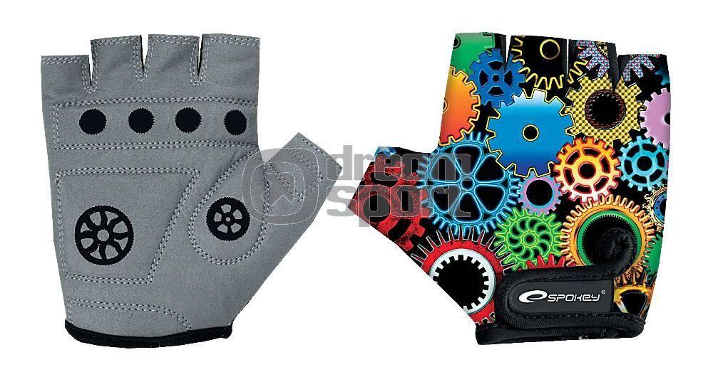Dětské cyklistické rukavice Spokey Bolt Dreamsport.cz 69226f272b